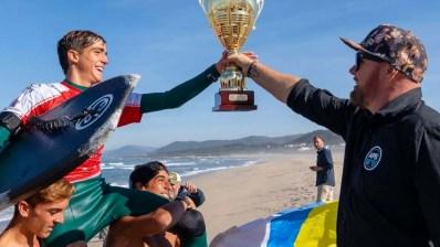 Bodyboarder español, Campeón del Mundo Junior