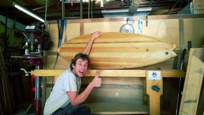 """Tablas de Surf de madera """"Made in Spain"""": Arte y Ecología"""