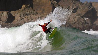 El mejor surf nacional en el Goanna Pro de Tapia