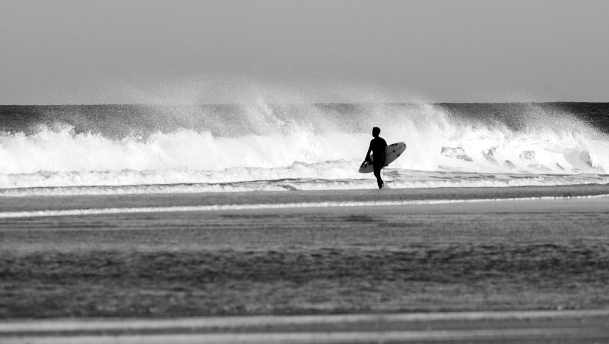 meditación y surf