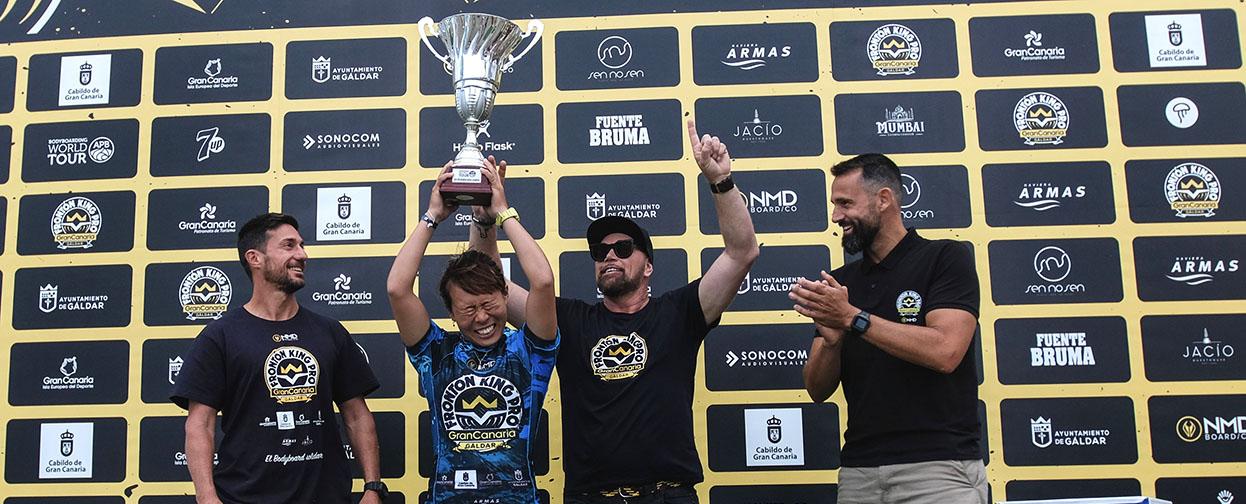 Sari Ohhara campeona del mundo Bodyboard