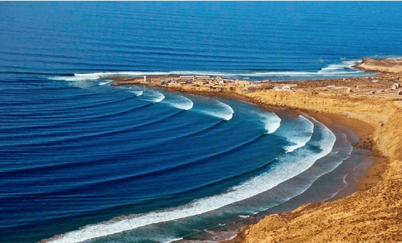 Fotografía de la ola de Imsouane