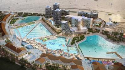 El parque de olas más grande de Asia abre sus puertas