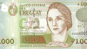 Billete con retraro de Juana