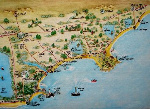 mapa José Ignacio