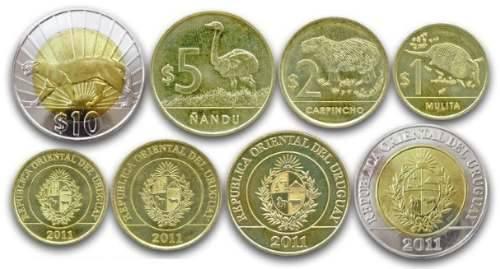 Monedas uruguayas