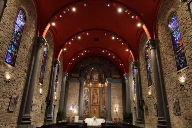 Interior de la Capilla San José del Manga