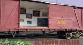 El vagón de los murales