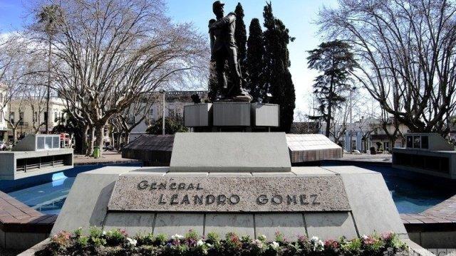 Mausoleo Leandro Gómez
