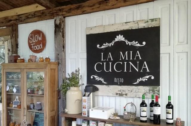 Interior de La Mia Cucina