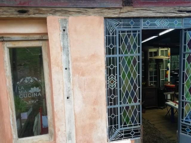 Puerta de entrada a La Mia Cucina