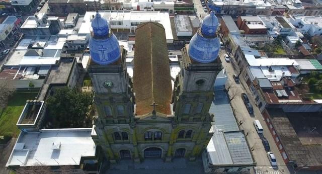 Vista aérea de la Catedral de Florida