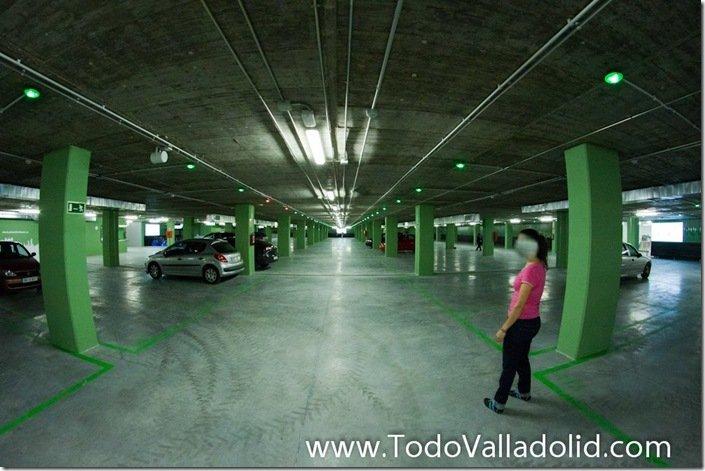 Valladolid cupula del milenio  parking
