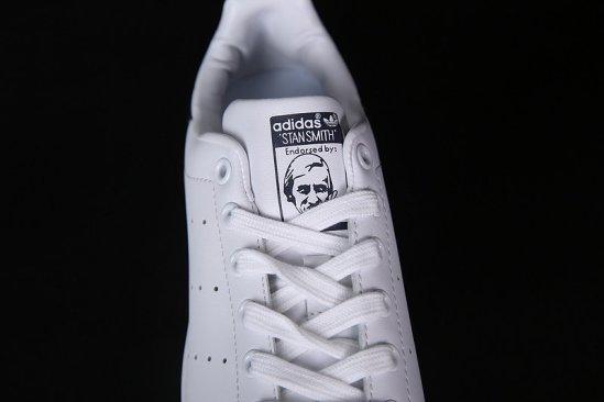 Adidas Stan Smith Blancas negro brillante 2