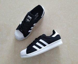Adidas Superstar de tela Negras