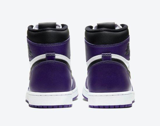 Air Jordan 1 Court Purple 5