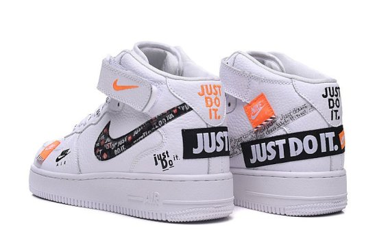 NIKE Air Force 1 Low Just Do It Blancas 2