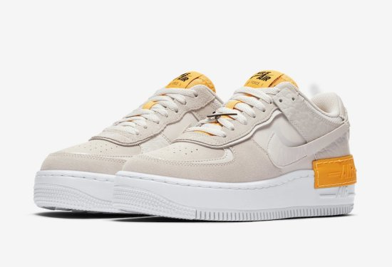 NIKE Air Force 1 Shadow Beig 3