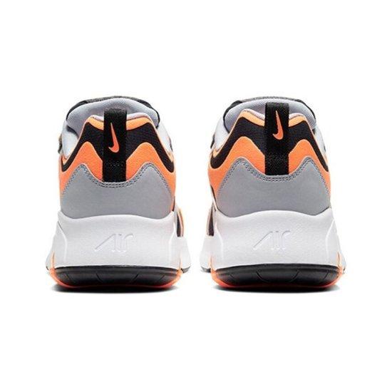 NIKE Air Max 200 Grises Negras y Naranjas 3