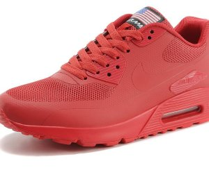 NIKE Air Max 90 Hyperfuse QS Rojas
