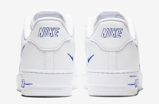 Nike Air Force 1 Low Sketch Blue 3
