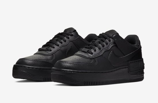 "Nike Air Force 1 Shadow ""Triple Black"""