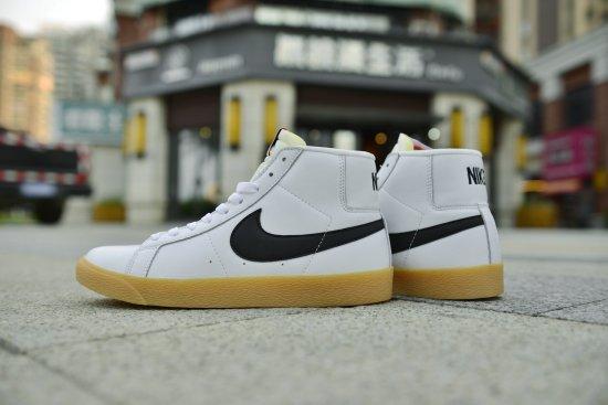 Nike SB Blazer Mid Orange Label White 3