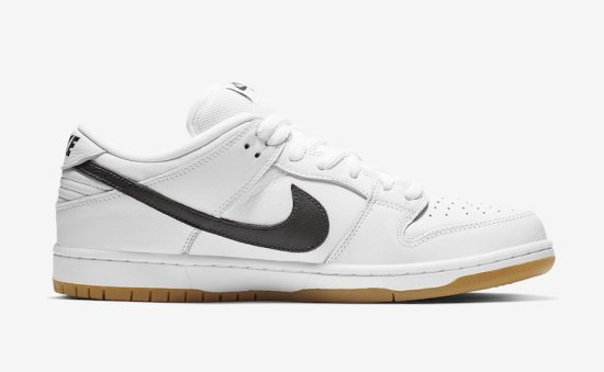 Nike SB Dunk Low Orange Label White 1
