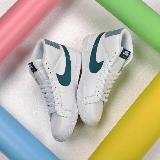 Nike SB Zoom Blazer Mid White Bicoastal 3