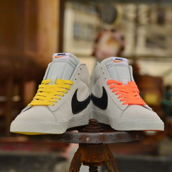 Off White Collaboration Nike Blazer Mid La Vs Nyc 3
