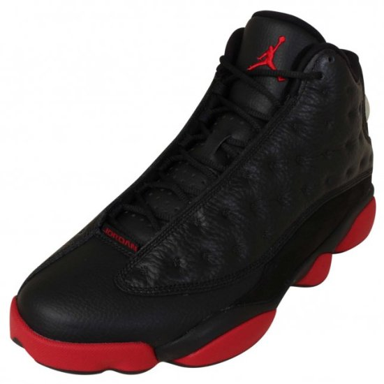 air jordan 13 black gym red 1