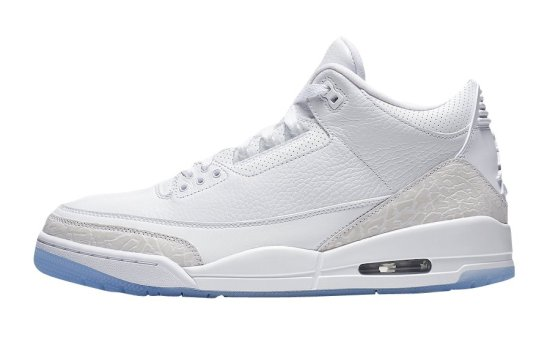 air jordan 3 triple white 2