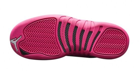 jordan 12 gs vivid pink 6