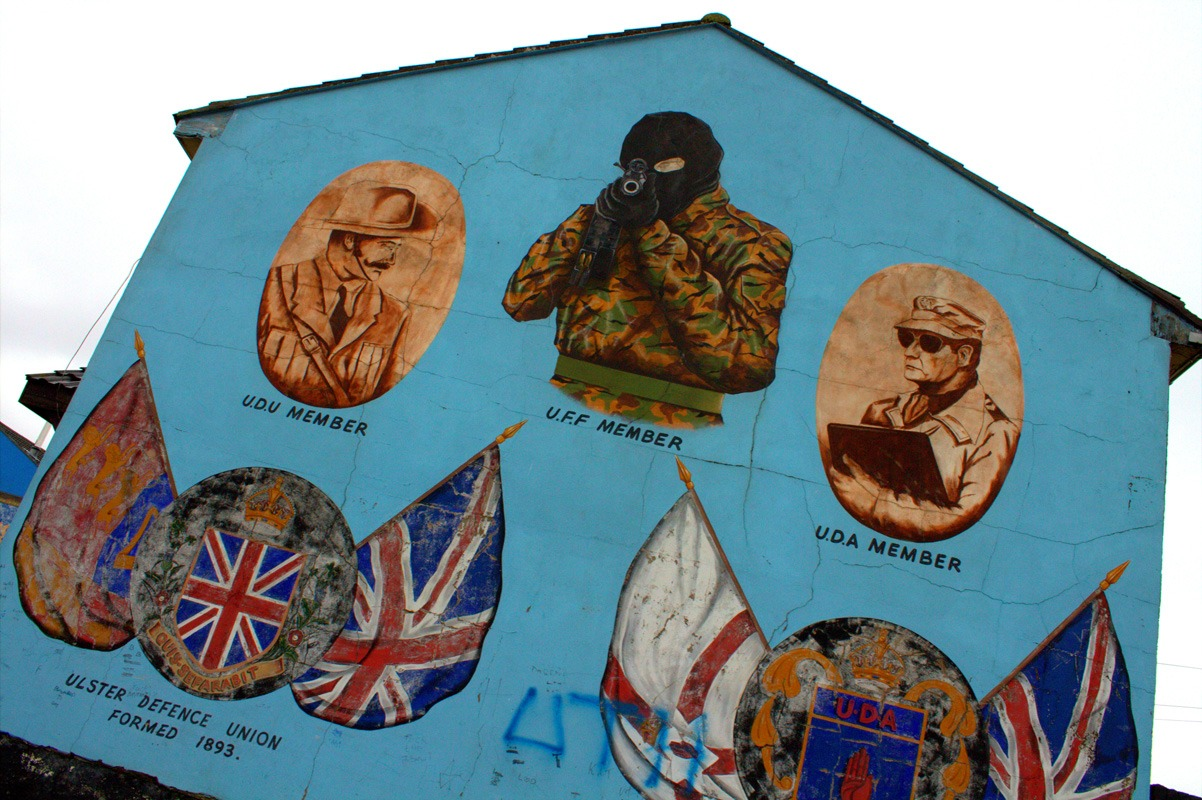 ireland troubles murals