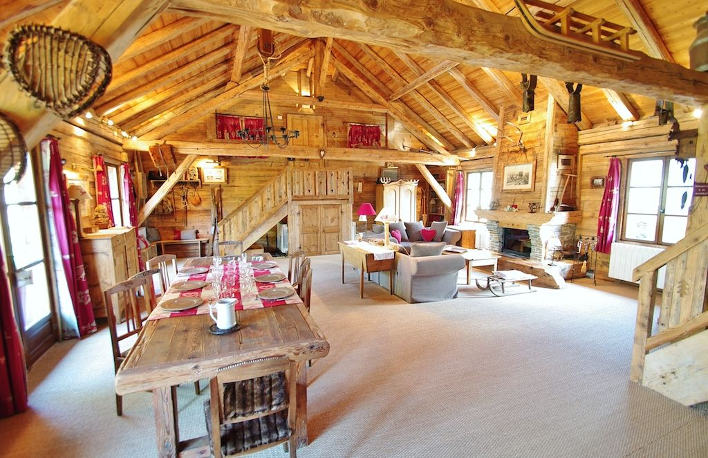 Luxury chalet in the French Alps Montaimont