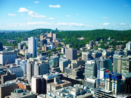 observation deck in montreal