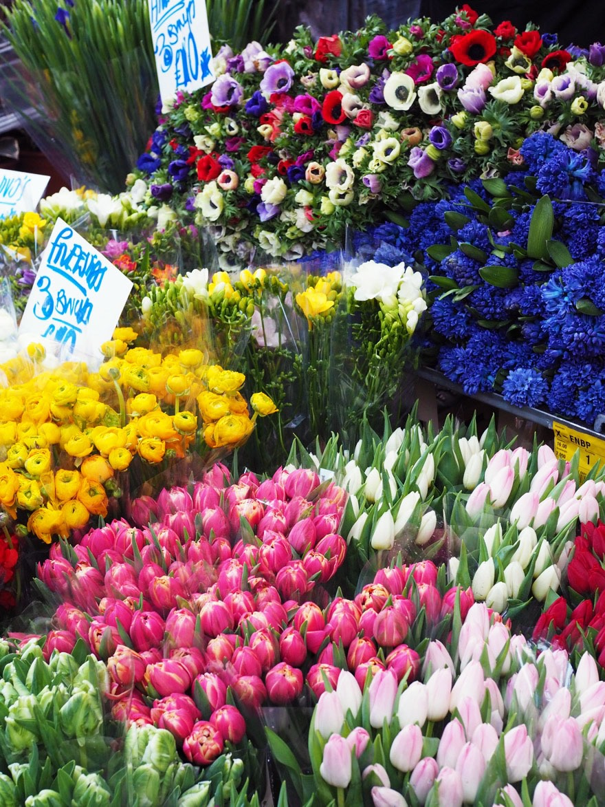 Columbia Road Flower Market in London