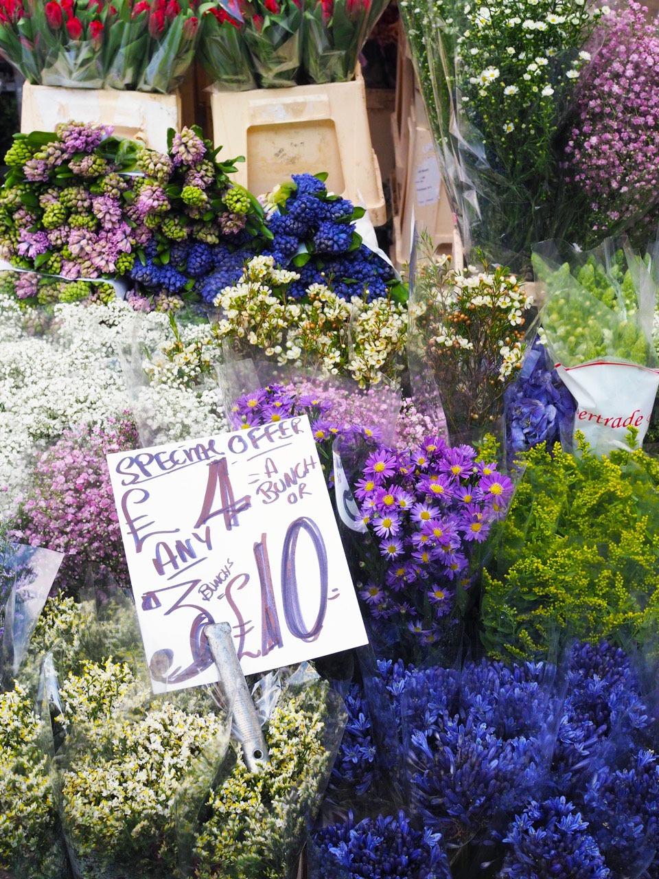Columbia Road Flower Market in London
