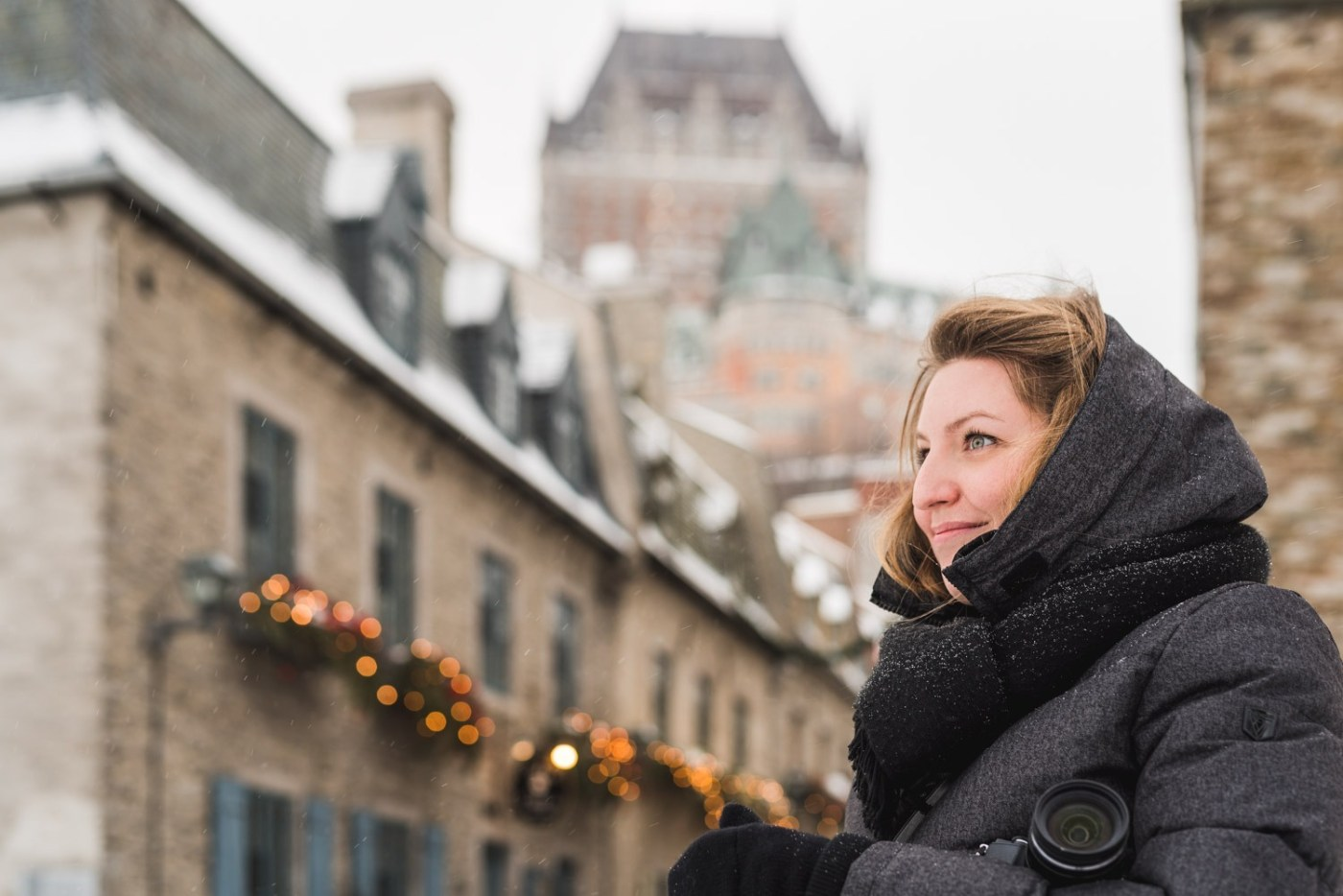 Quebec City in Winter marie
