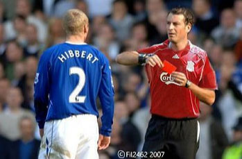 Tony Hibbert vs Mark Clattenburg