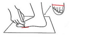 Toddler Foot Width Measure