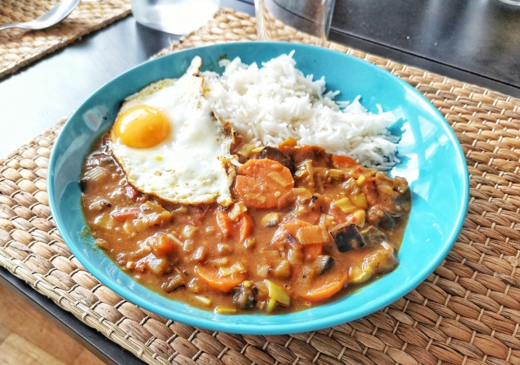 Japanese Spicy Vegetable Curry