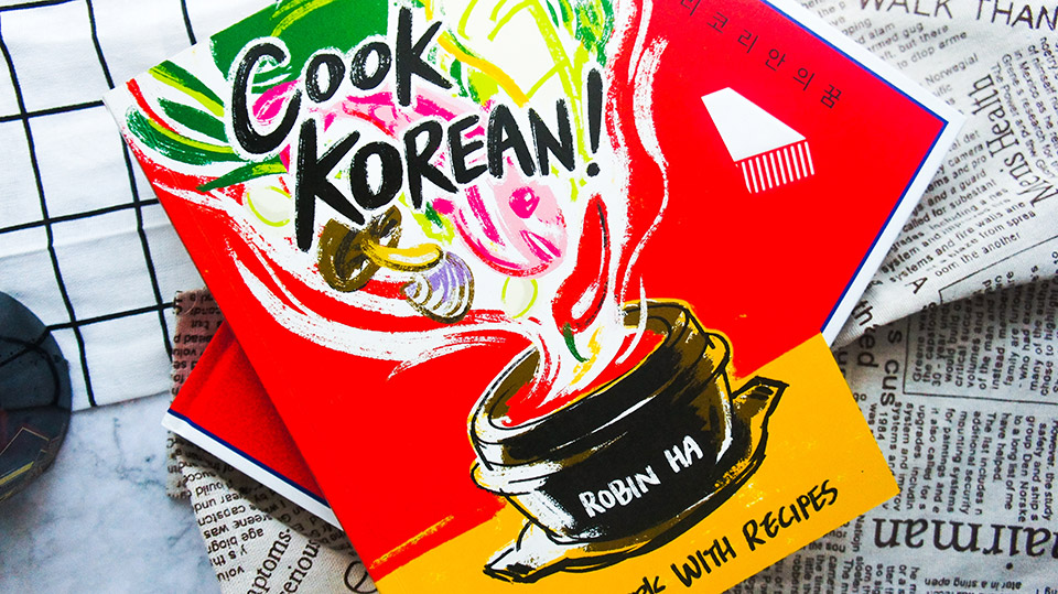 Cover of the cookbook Cook Korean!