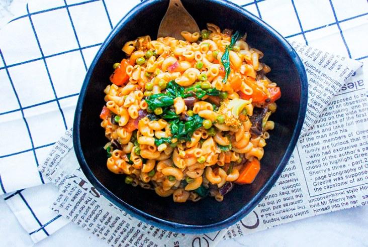 Bowl of Instant Pot Pasta