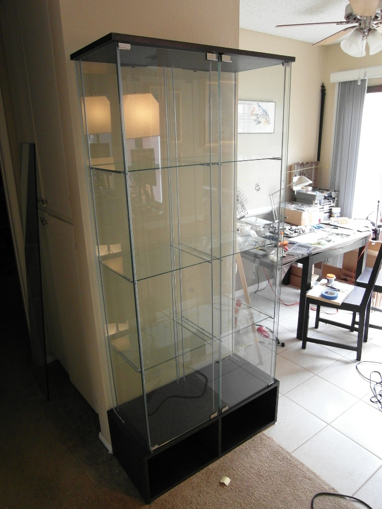 ikea display cabinet detolf  Home Decor