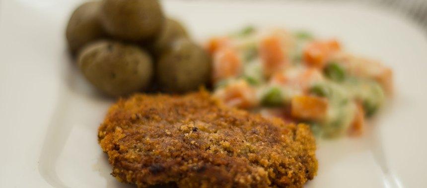 Vegane Schnitzel – Medaillons mit knuspriger Panade