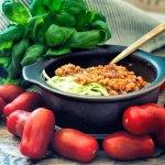 Grünkern Tomaten Bolognese - der Klassiker