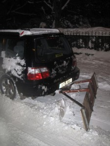 Homemade snow plow  Dublin Hackerspace DIY Projects