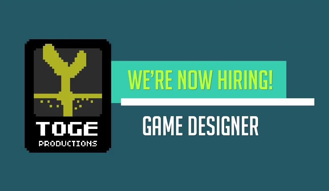 Full-Time: Game Designer