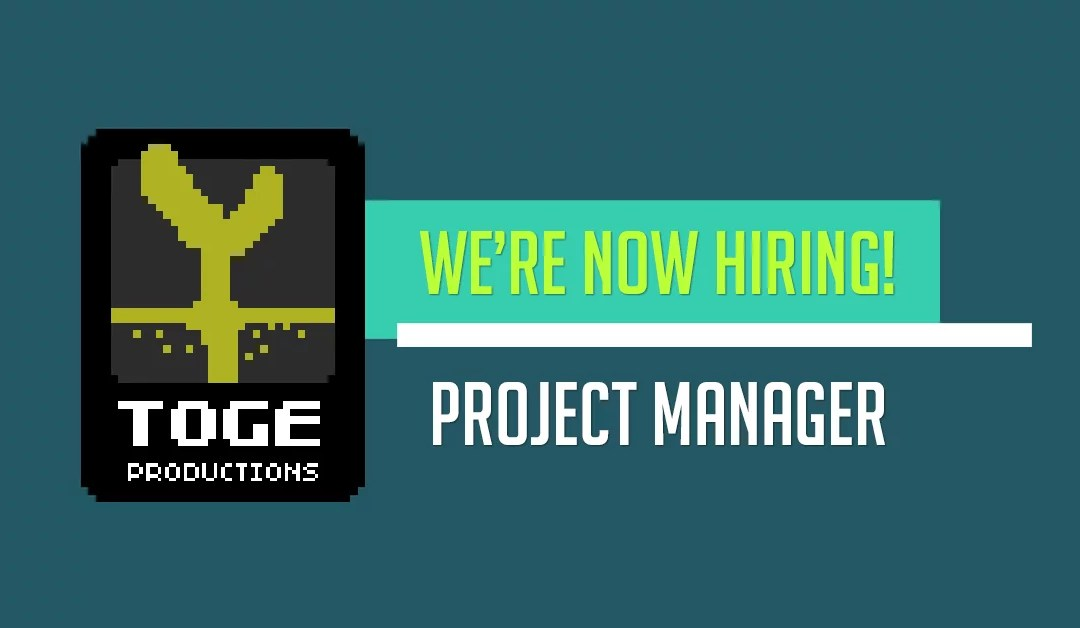 Full-Time: Project Manager